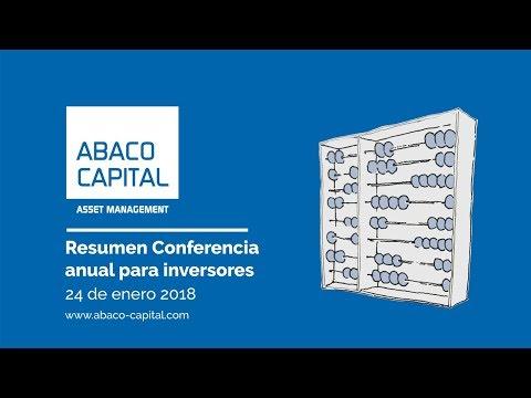 En este video resumen se puede ver lo más destacado de la Conferencia anual para inversores 2018 así como las líneas maestras de las ideas de inversión que analizó el equipo gestor de Abaco Capital.