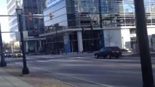 Vinicius em Atlanta - Ruas vazias