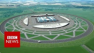 Will circular runways ever take off? BBC News