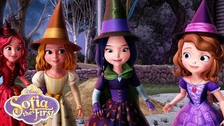 The Broomstick Dance | Music Video | Sofia the First | Disney Junior