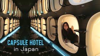 TOKYO CAPSULE HOTEL TOUR width=