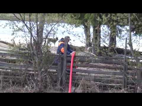 Аварийно-спасательная работа в Шурышкарском районе часть 4