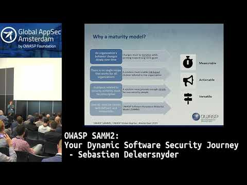 OWASP SAMM2: Your Dynamic Software Security Journey - Sebastien Deleersnyder