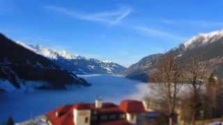 Time Lapse beautiful Mountains _Bad Gastein_Ski amadé