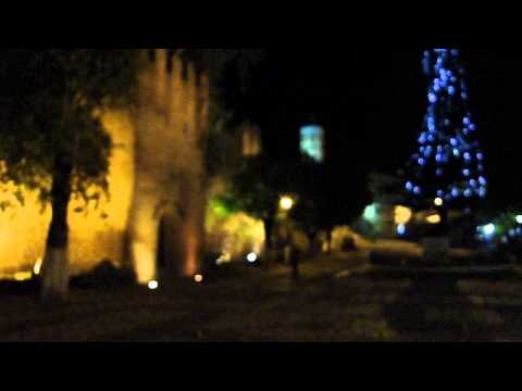 MARRUECOS. De noche ante la Kasbah de Chefchaouen, الشاون