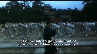 Jet li Tai Chi Master / Twin Warriors  theme - with lyrics!