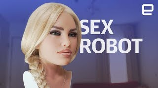 Sex Robot Hands On At CES 2018