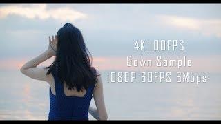4K 60FPS高帧率&码率测试 2:1比例(iPhoneX&Galaxy Note8适配)