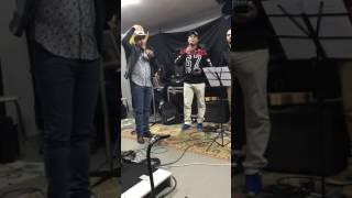 Léo & Leonardo - Pegando Fogo - Ensaio com a Banda