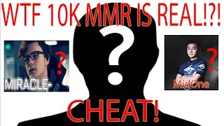 WTF!?! 10K MMR ACHIEVED! (Bad news guys - the guy is cheating!)