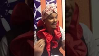 Netinho concede entrevista para imprensa após show no Camarote do Nana I