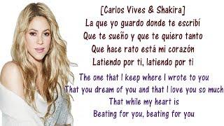 Carlos, Shakira - La Bicicleta - Lyrics English and Spanish - The bicycle - Translation & Meaning