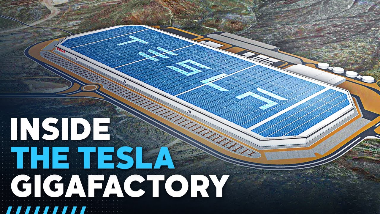 Inside Tesla's  Billion Gigafactory