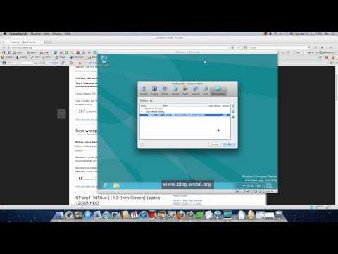 Shared Folders VirtualBox on Mac Lion and Windows 8