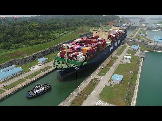 Первый Neopanamax в Панамском канале в этом году