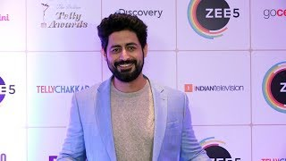 Mohit Raina At 15th Indian Telly Awards 2019 | Red Carpet
