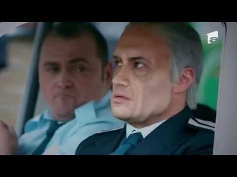 În prima sa misiune, poliţistul Vişinescu aplică legea într-un supermarket, In Puii Mei