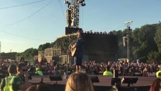 Justin Bieber 'Cold Water' Live BST Hyde Park 2/7/2017