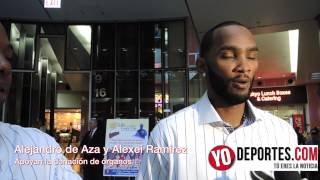 ALEXEI RAMIREZ ALEJANDRO DE AZA SUPPORT ILLINOIS SECRETARY OF STATE IN ORGAN DONATION