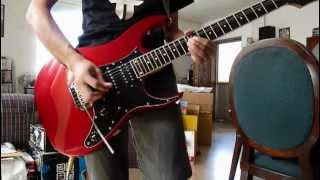 Parting Time - Rockstar guitar solo cover