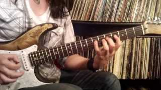 The Winery Dogs - Not Hopeless - guitar solo lesson by Dani Vargas