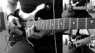 Amon Amarth - One Thousand Burning Arrows (Solo - Guitar Cover)