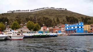 Lago Titicaca fronteira entre Bolivia e Peru
