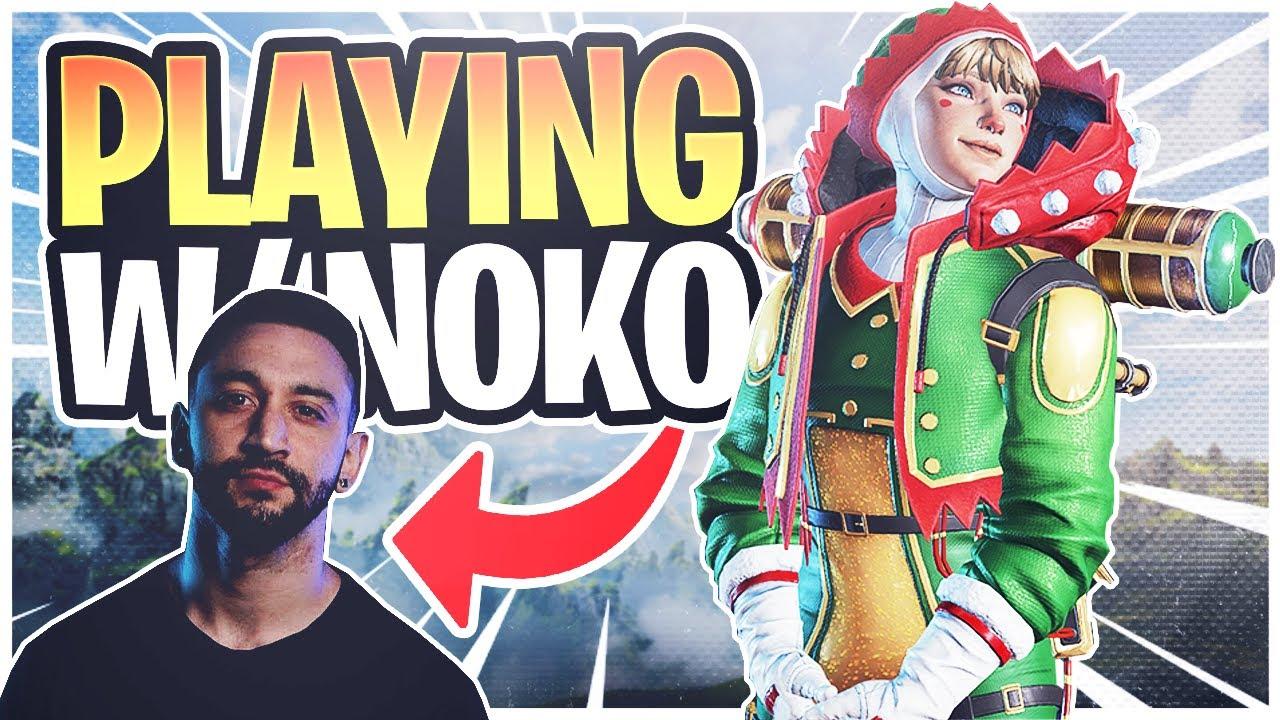 Nspire - I Got into a RANDOM GAME with NOKOKOPUFFS! (Apex Legends)