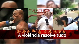 A violência resolve tudo - Versão meme