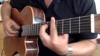 "Fingerstyle "" DELILAH "" Tom Jones Cover"