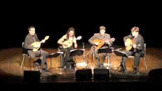 Mozart-Divertimento K136 last mouvement  - Kerman Mandolin Quartet Live at Festival de Lunel 2012