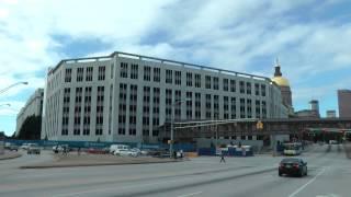 Capital Parking Deck - Construction - Downtown Atlanta - 10/8/13