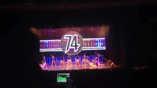 "STD 74 DANCE FEMENIL OPEN ""ANIVERSARIO 2013"""