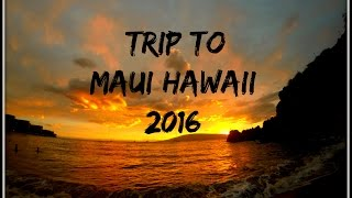 Trip To Maui | Hawaii 2016