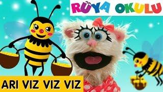 Arı Vız Vız - Çocuk Şarkısı - Çizgi Film Şarkısı Türkçe - RÜYA OKULU