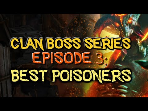 RAID: Shadow Legends   Clan Boss Series, Episode 3 - The best poisoners in the game to kill the CB