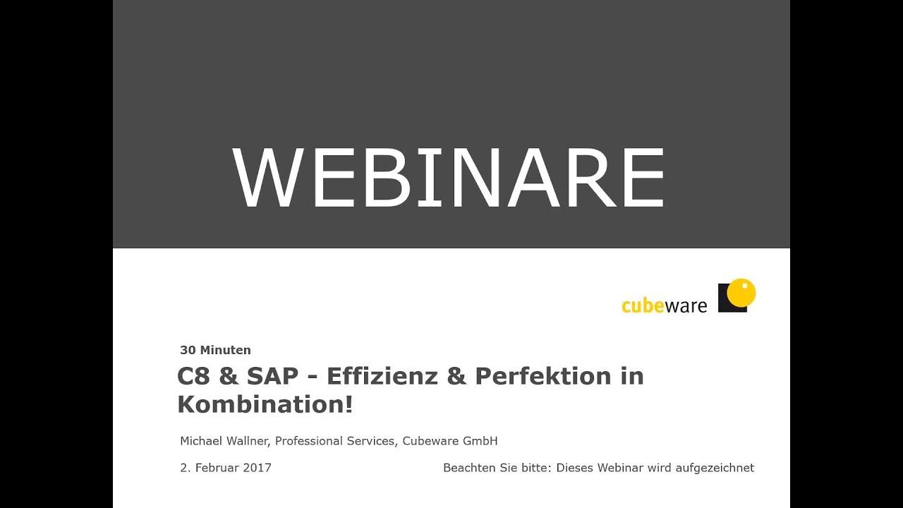 Cubeware SAP - Effizienz & Perfektion in Kombination