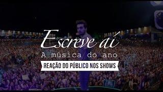 Luan Santana - Escreve aí - O público cantando a música (Ao vivo)