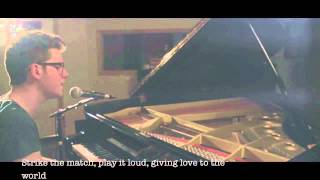 """Burn"" Lyrics - Ellie Goulding (Alex Goot Cover)"