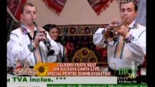 Fraţii Reuţ 2010 LIVE EtnoTv - Bătrâneasca din Vicov