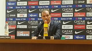 Conferenza Allegri post Roma: