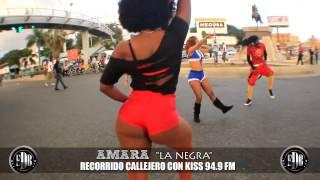 PROMO AYY - Recorrido Amara La Negra con la emisora Kiss 94.9 fm (1min)