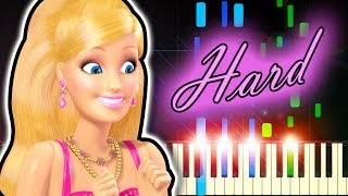 AQUA - BARBIE GIRL - Piano Tutorial