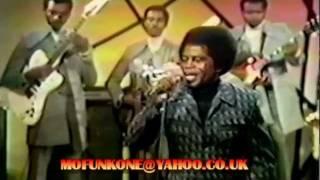 JAMES BROWN & THE J.B.'S - SUPERBAD.LIVE TV PERFORMANCE 1971