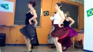 Aula de Dança Flamenca -Tango Flamenco com música - Coreografia Izabel Moratti