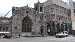Panorámica del Templo El Mesías, Balderas 47, México D F