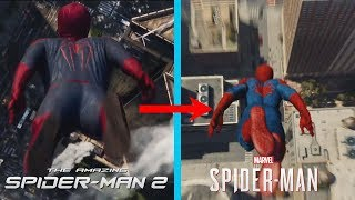Spider-Man PS4 Recreating The Amazing Spider-Man 2 Intro