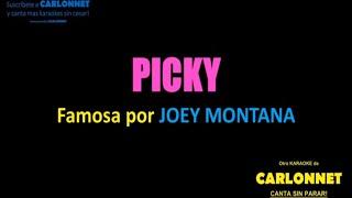 Picky -Joey Montana (Karaoke)