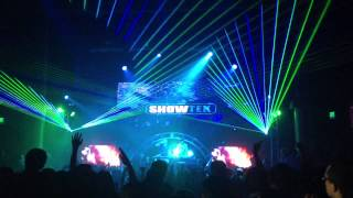 Showtek drops Chuckie & Junxterjack - Make Some Noise (Live at the Yost Theater)