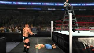 WWE 12 EXTREME RULES 2012 John Cena vs Brock Lesnar